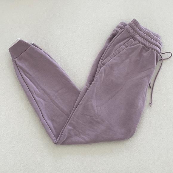 Lavender Adidas Sweatpants
